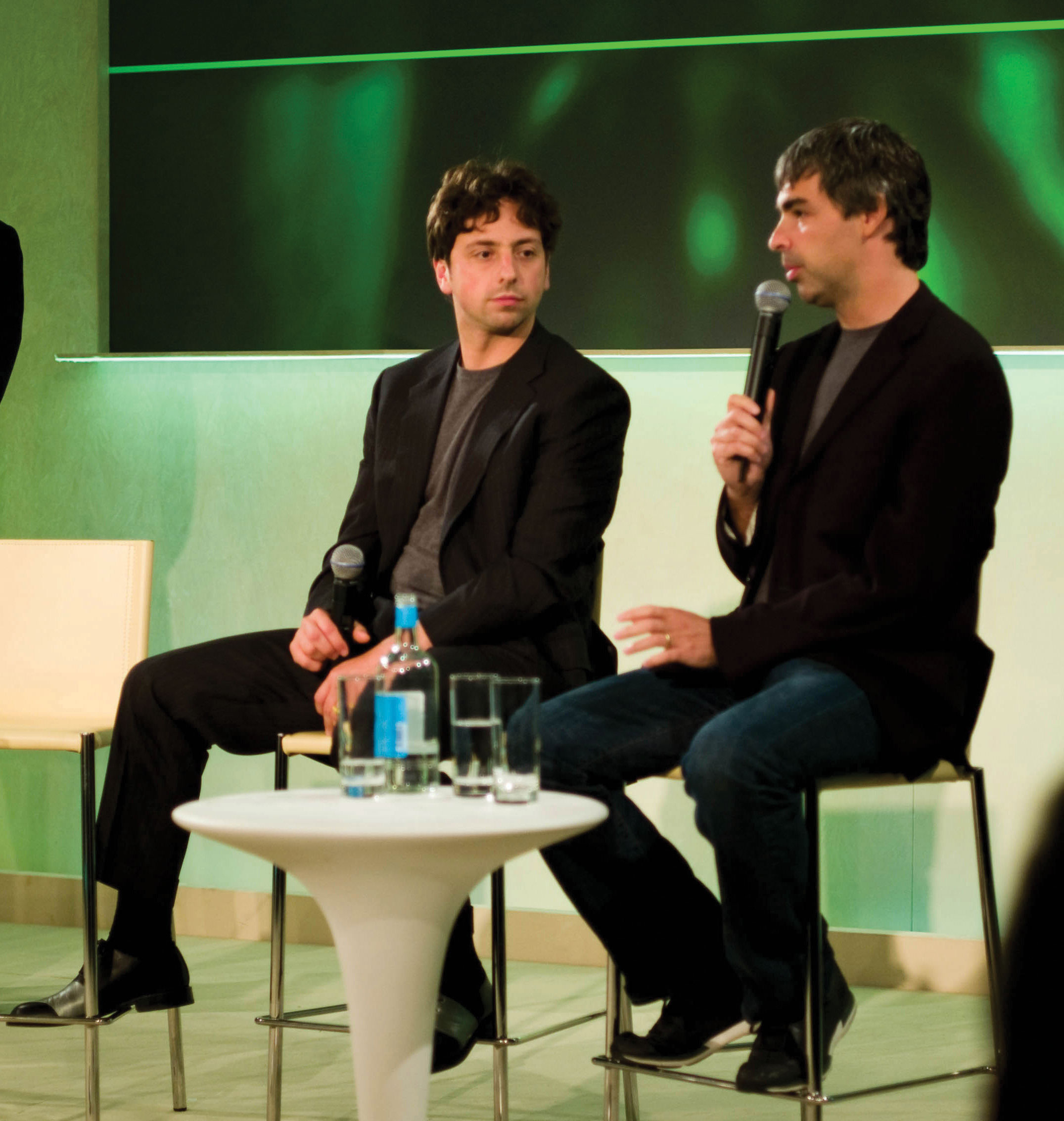 The Google corporation cofounders Larry Page and Sergey Brin are good examples of transformational leaders who have been able to see new visions and to motivate their workers to achieve them.