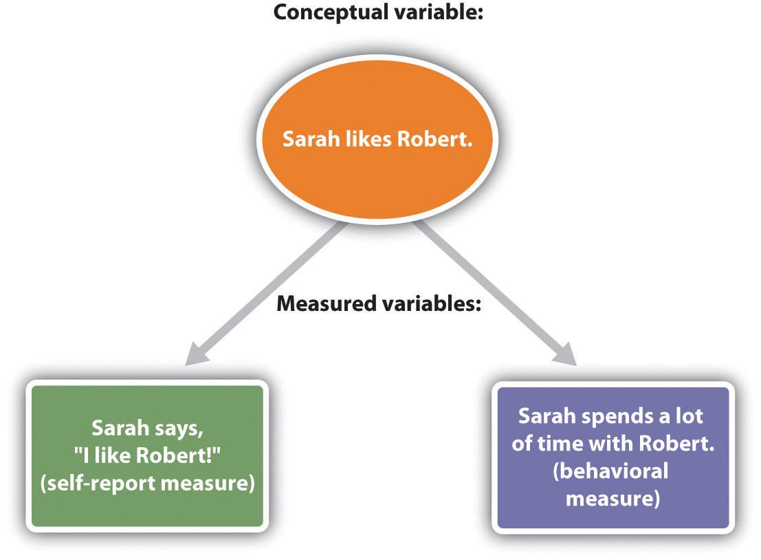 The Operational Definition: Sarah Likes Robert. Either Sarah says,