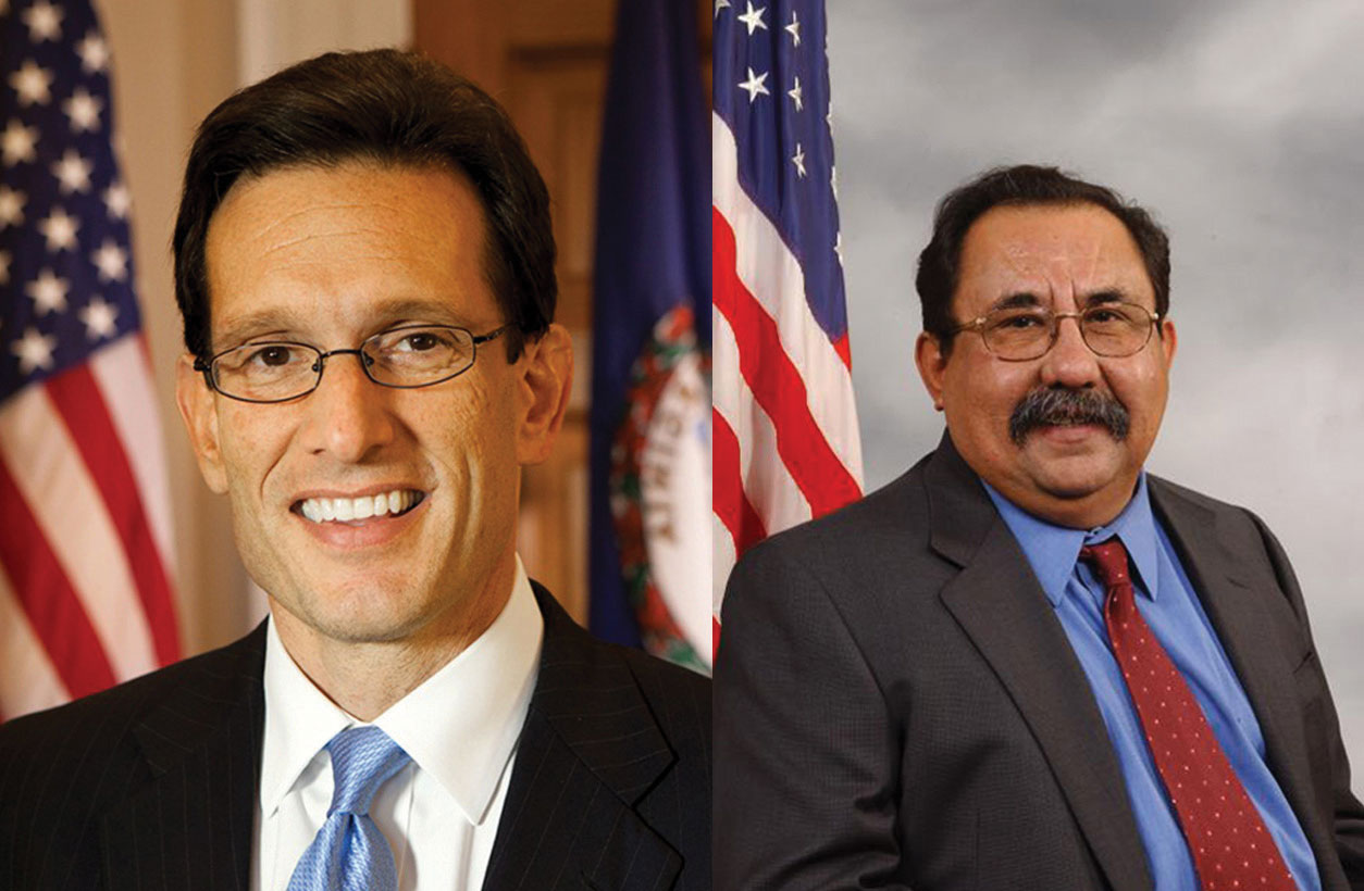 Eric Cantor and Raul Grijalva