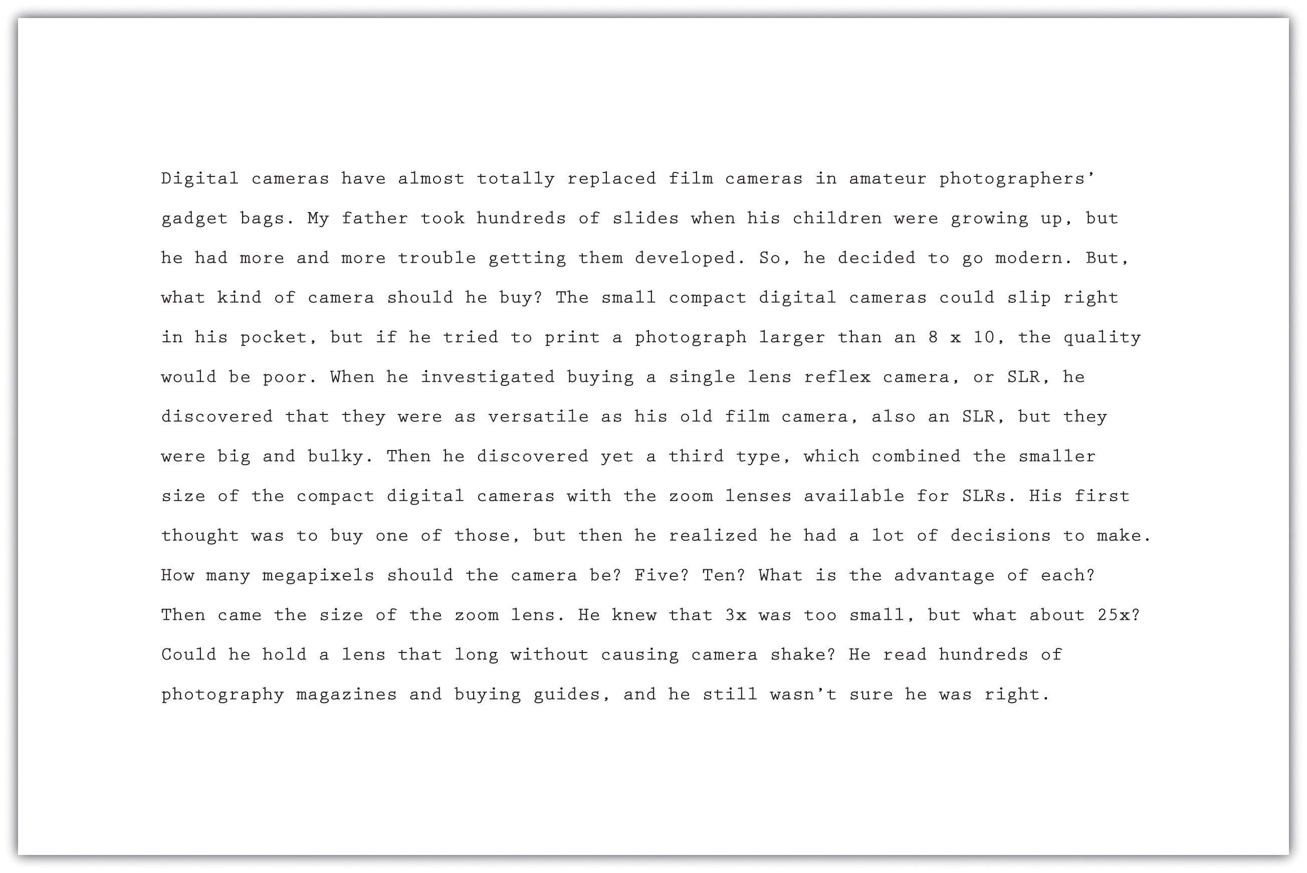 Essay excerpt