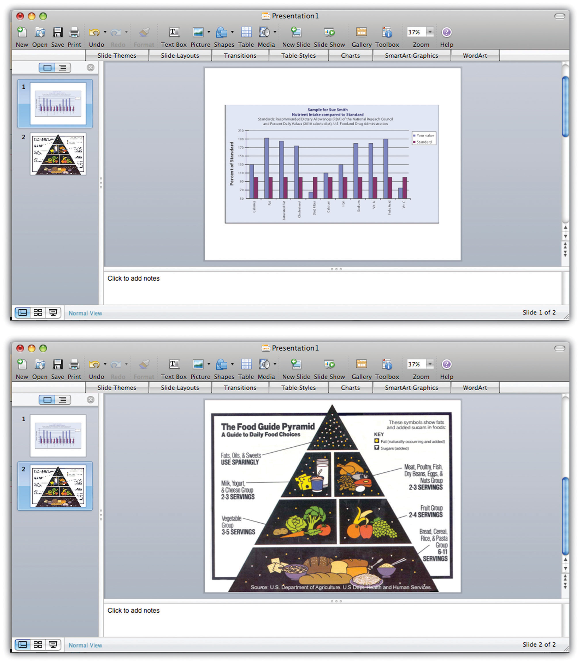 Screenshot of powerpoint