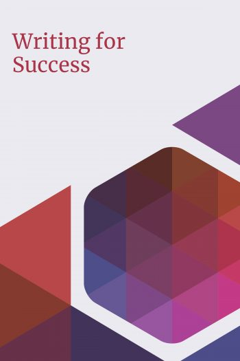 Cover image for Writing for Success