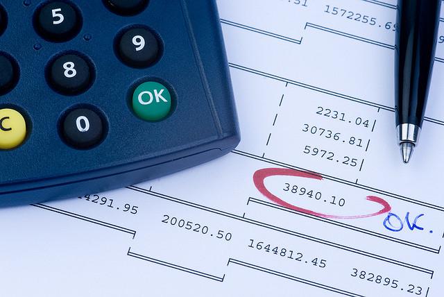 An ok-ed balance sheet