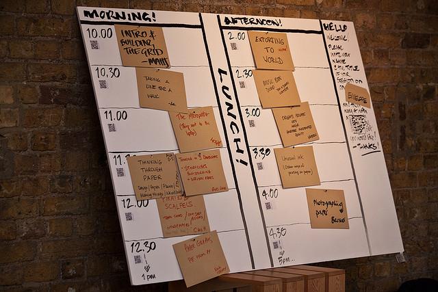 Papercamp schedule