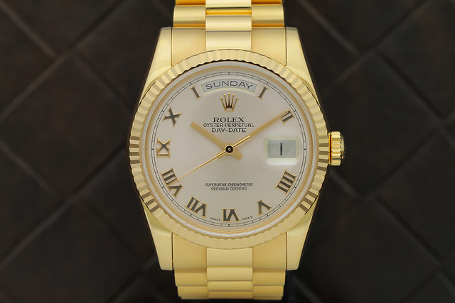 A very expensive Rolex watch