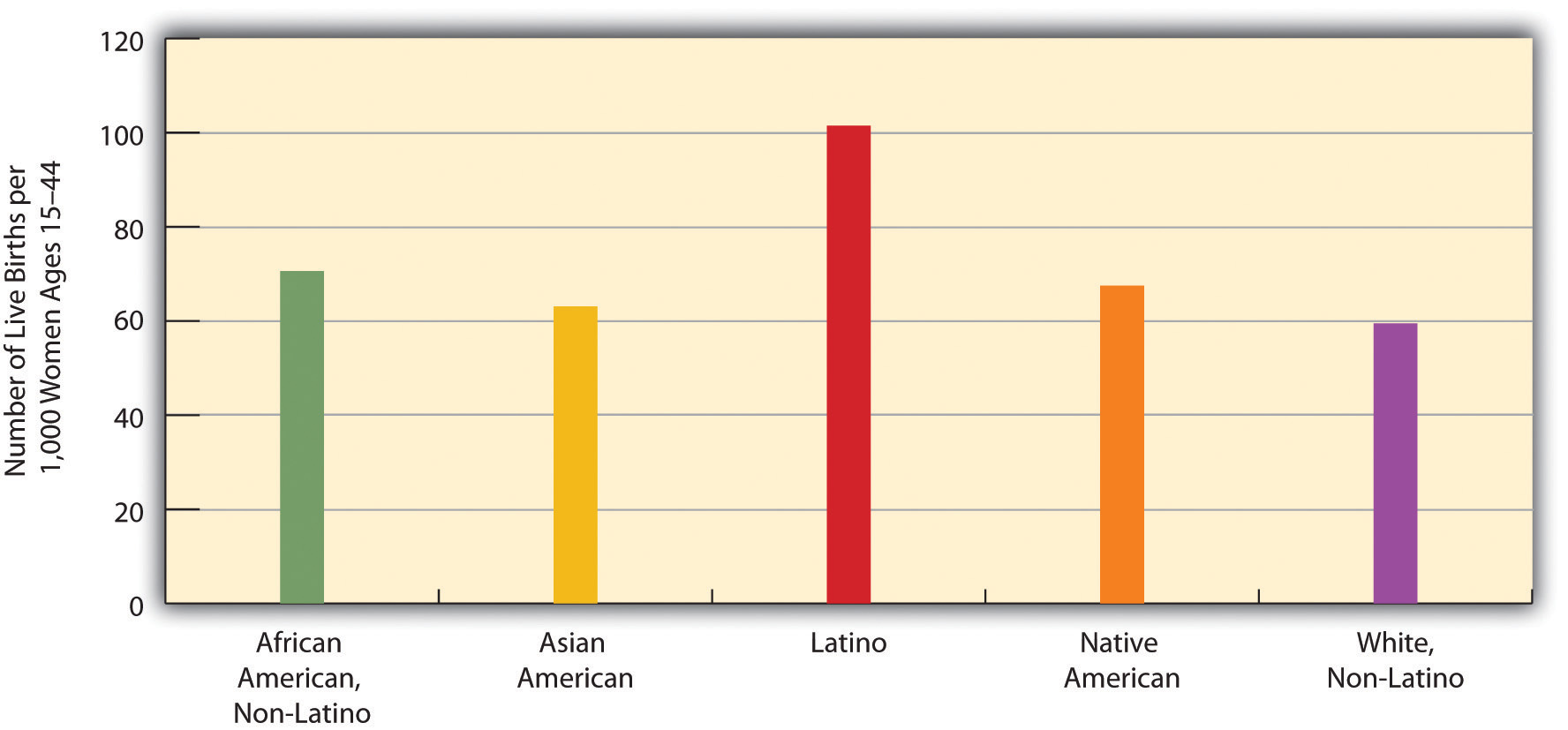 Race, Ethnicity, and US Fertility Rates, 2006