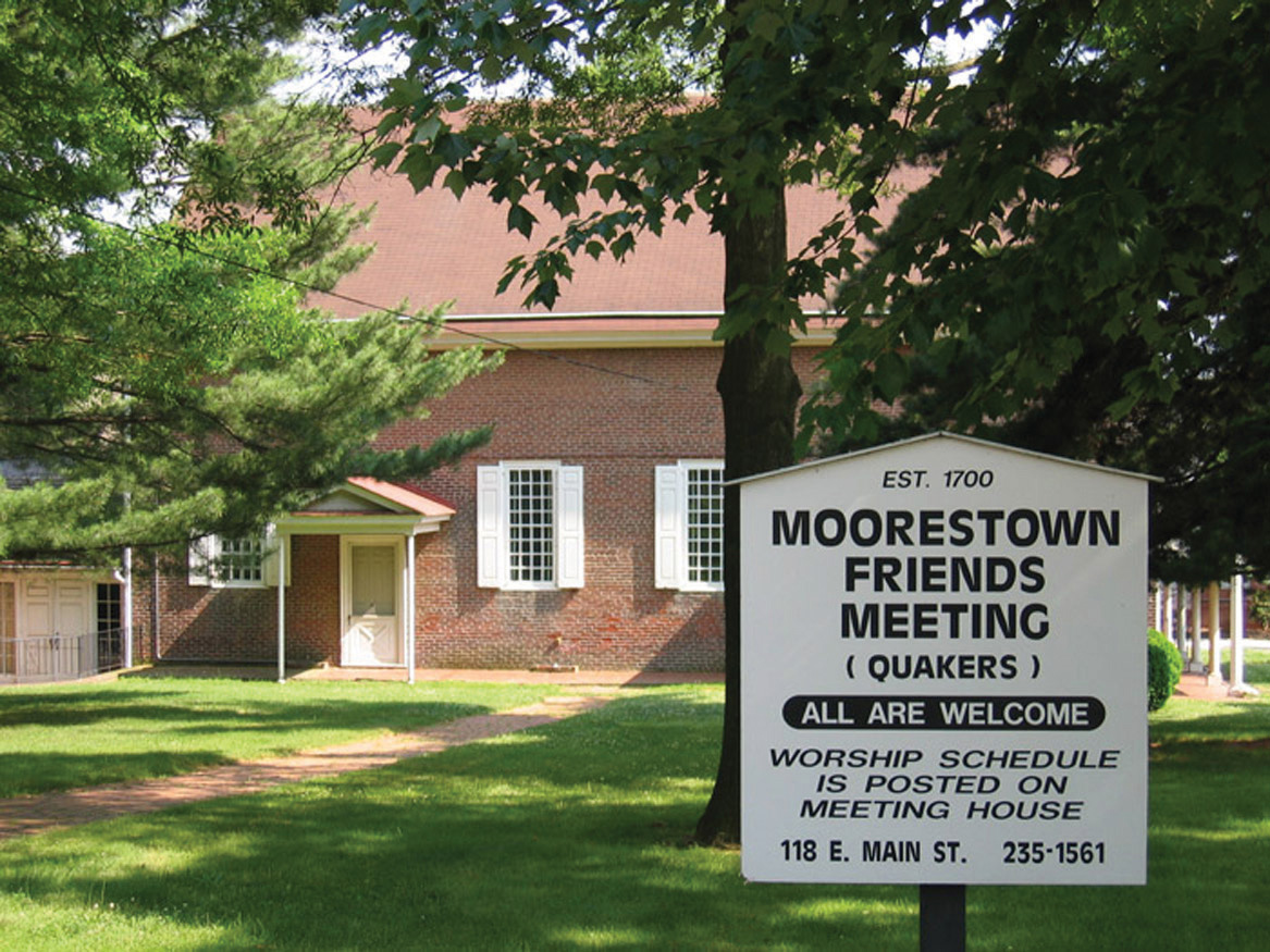 Moorestown Friends Meeting (Quakers) All are welcome