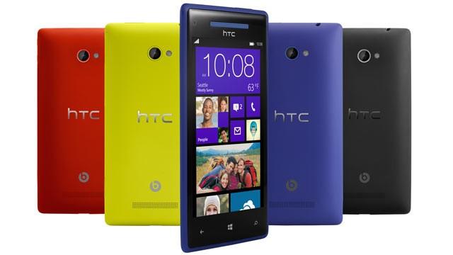 HTC Windows 8X smartphone