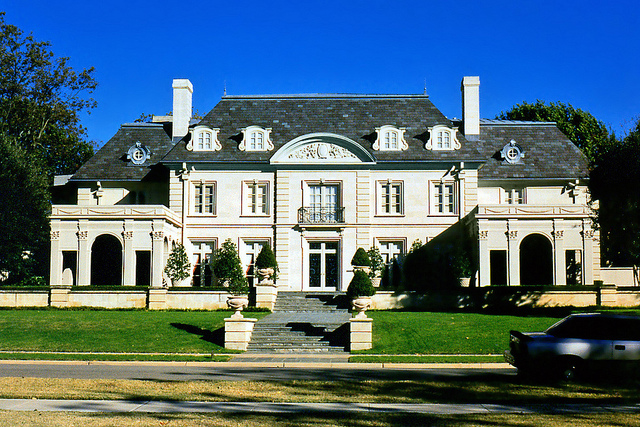A mansion in Highland Park