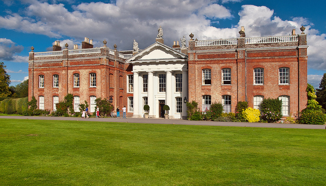 Avington Park mansion in Hampshire