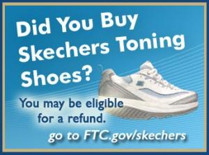 A Skechers refund ad: