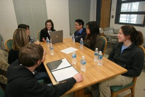 A focus-group interview at Penn State