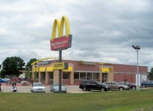 A New McDonald's restaurant in Mount Pleasant, Iowa