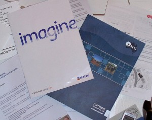 A pile of annual reports