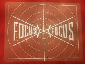 A target: focus