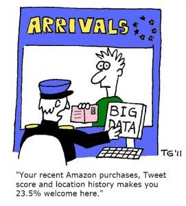A cartoon about Big Data: