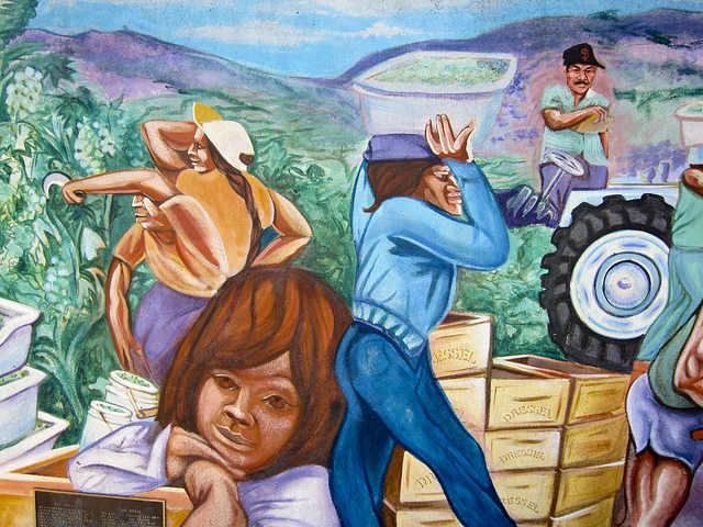 Mural to honor migrant workers at the Gundlach-Bundschu winery