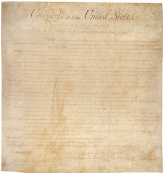 Original United States Bill of Rights