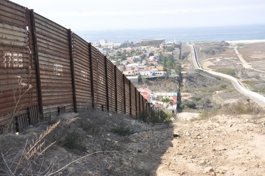 A border fence