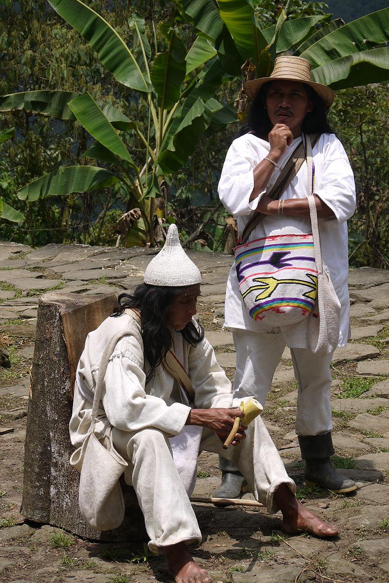 Koguis shaman in Columbia