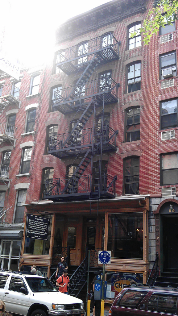 In the 19th and 20th centuries, a 350 square foot apartment here housed six recent immigrants