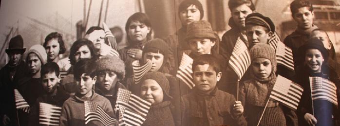 Immigrant Children (at Ellis Island)