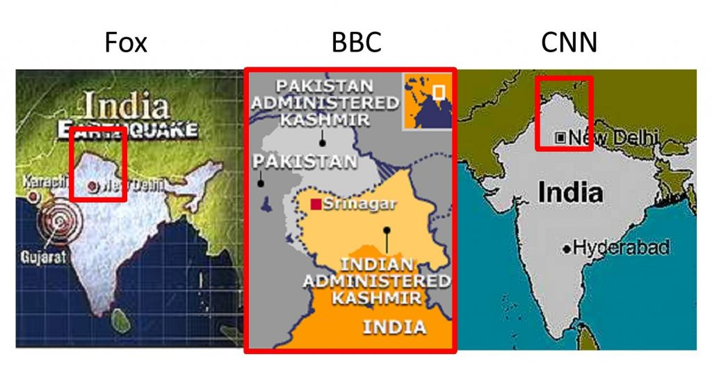Kashmir in the news