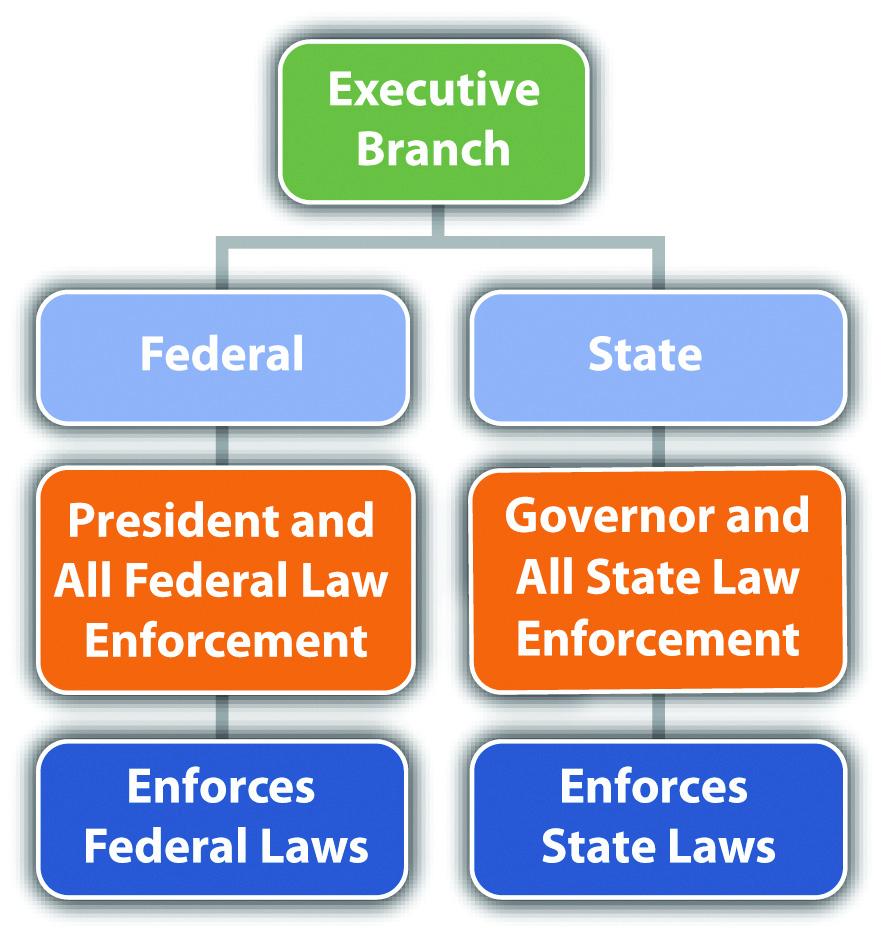 Diagram of the Executive Branch