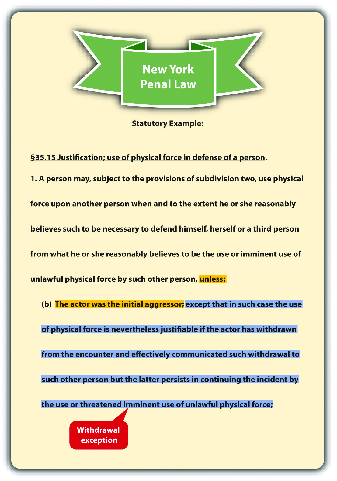 New York Penal Law