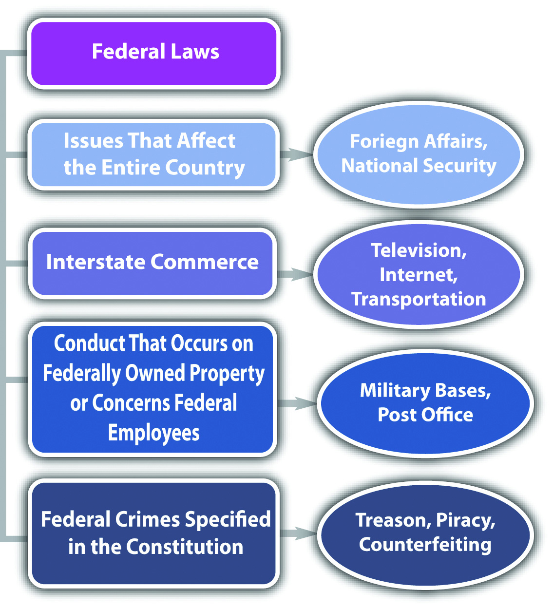 Diagram of Federal Laws
