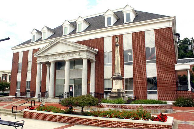 Gordon County Courthouse in Calhoun, Georgia