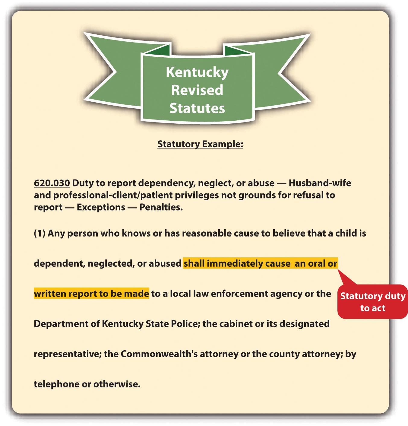Kentucky Revised Statutes
