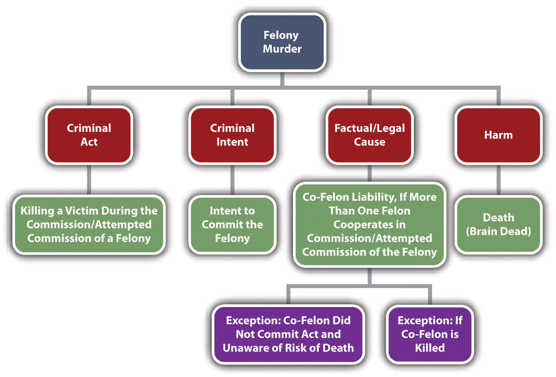 Diagram of Felony Murder