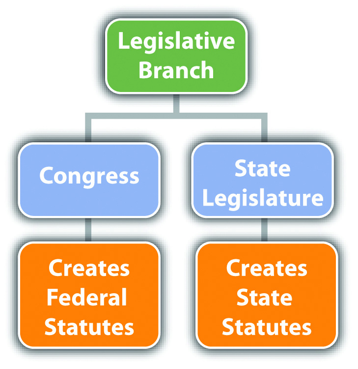 Diagram of the Legislative Branch