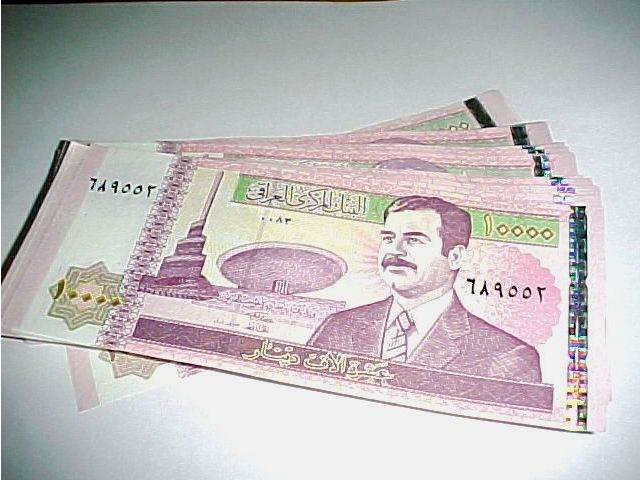 1 million Iraqi Dinar