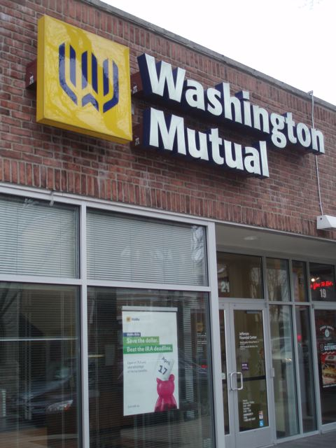 Washington Mutual storefront