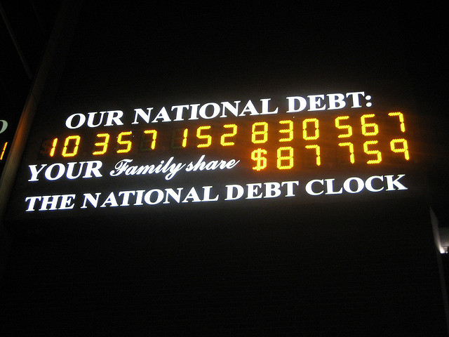 Our National Debt counter