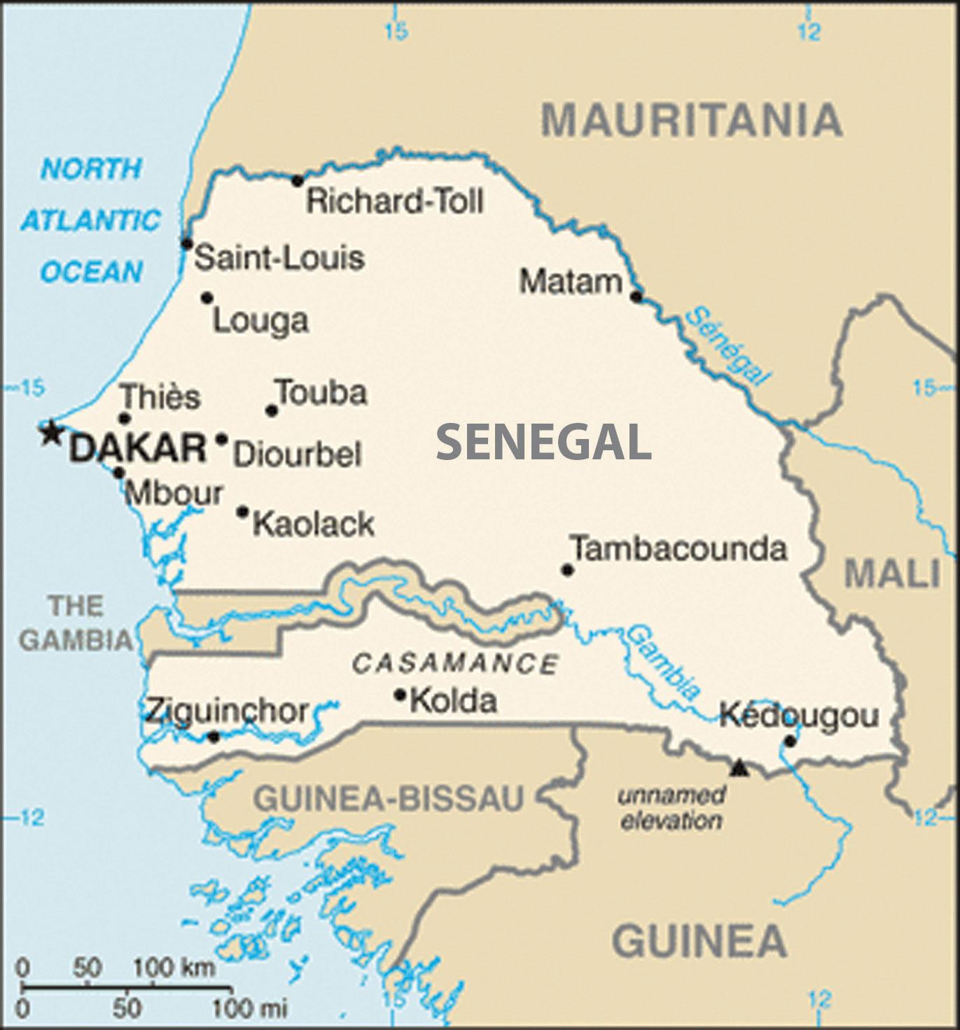 Image of: 7 3 West Africa World Regional Geography