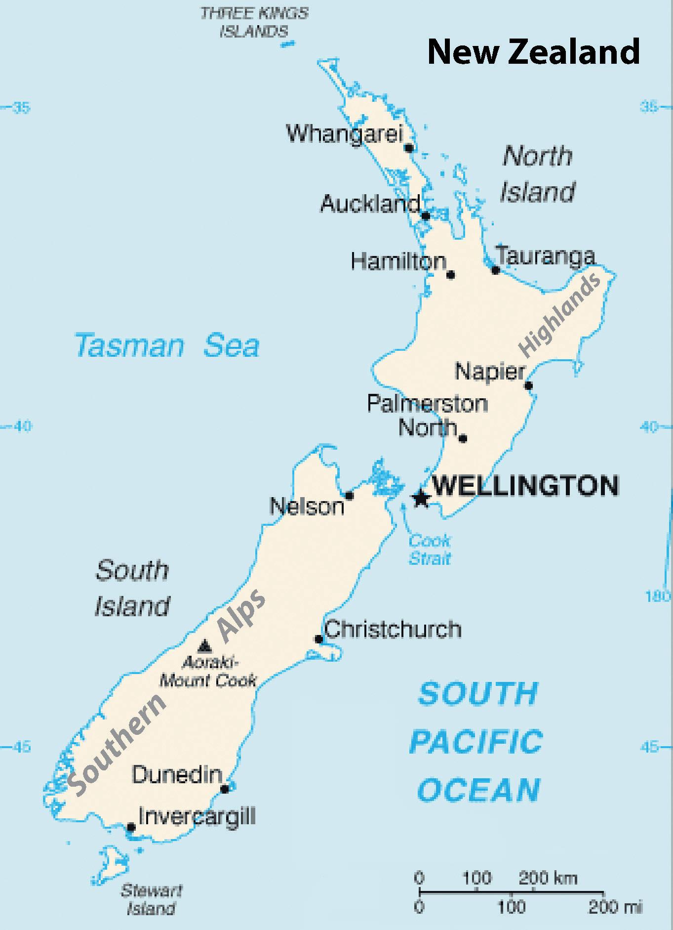 12 3 New Zealand World Regional Geography