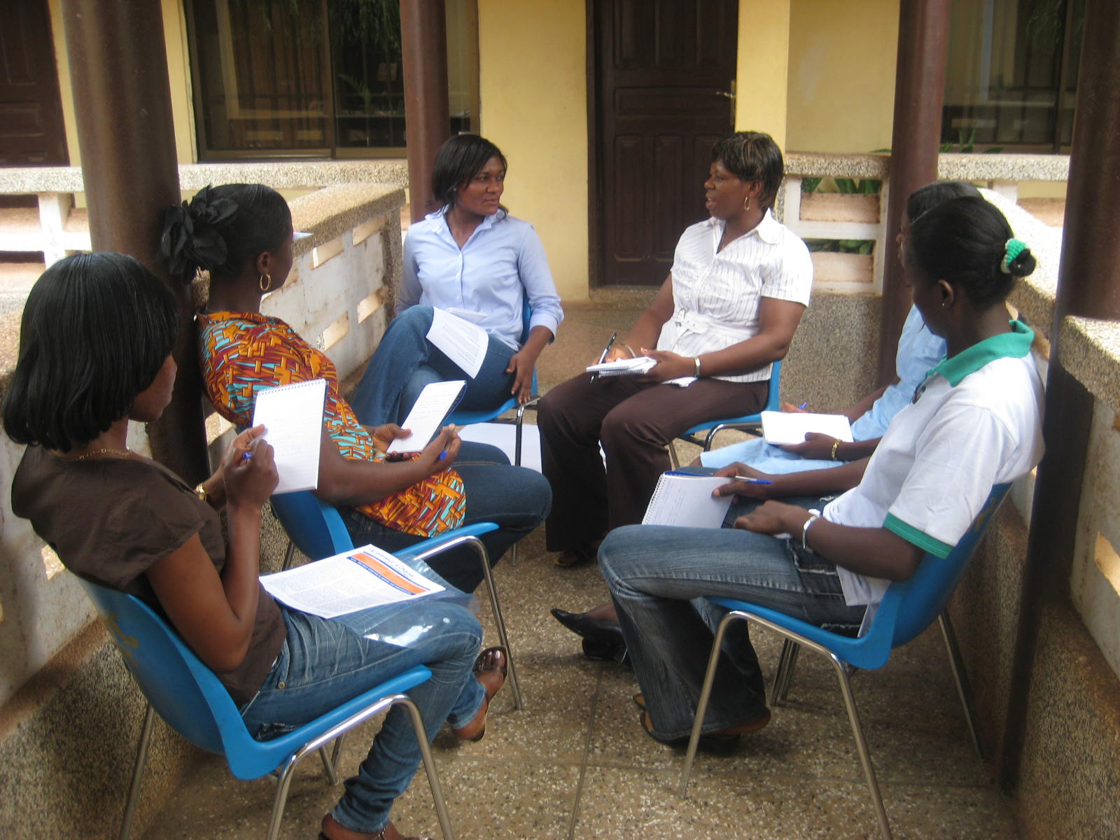 People Taking Part in a Campaign Focus Group