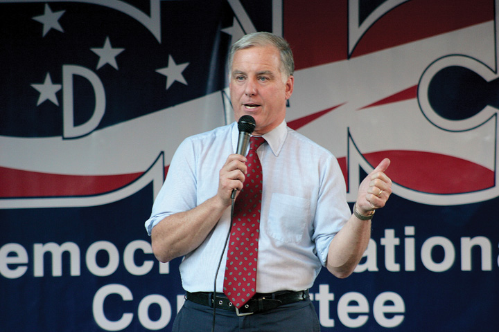 Howard Dean Speaking at a DNC Event