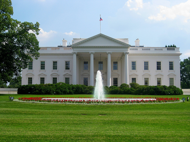 The White House North Portico