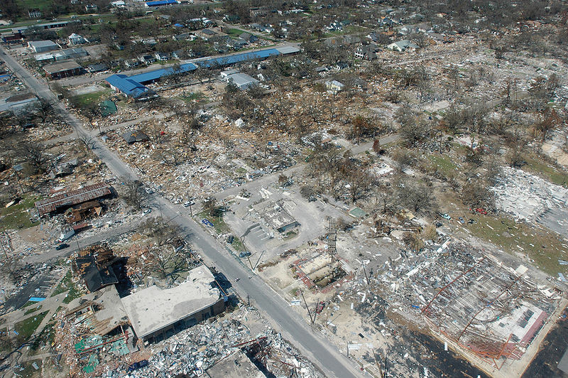 Devastation Wrought by Hurricane Katrina