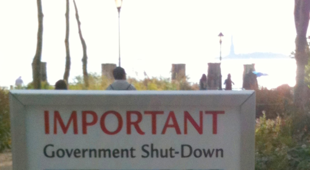 Closed Public Building during 1995-96 Government Shutdown