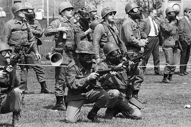 National Guardsmen at Kent State