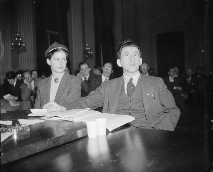 The HUAC hearings