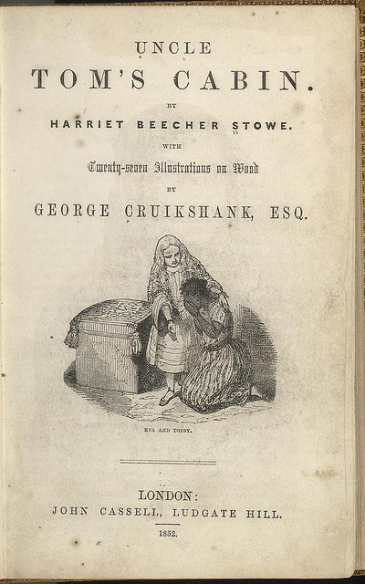 Lithograph from Uncle Tom's Cabin by Harriet Beecher Stowe