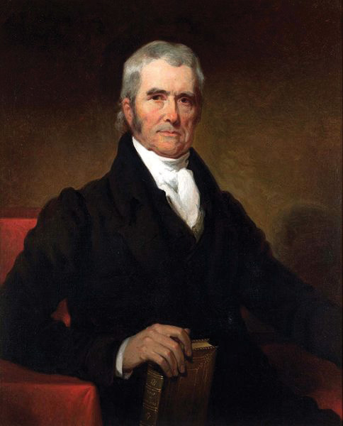 John Marshall, chief justice