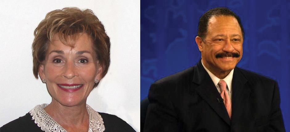 Judge Judy and Judge Joe Brown
