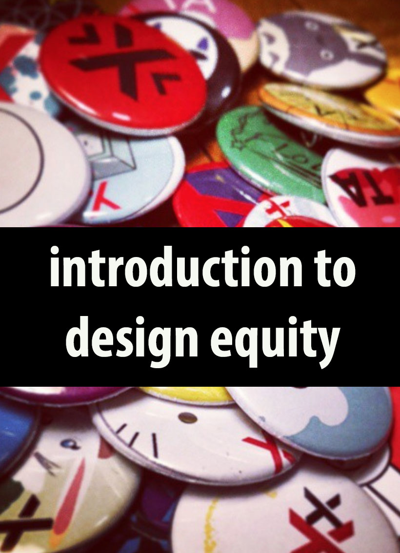Cover image for Introduction to Design Equity